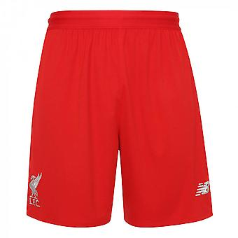 2018-2019 Liverpool gestrickt Trainings-Shorts (rot)