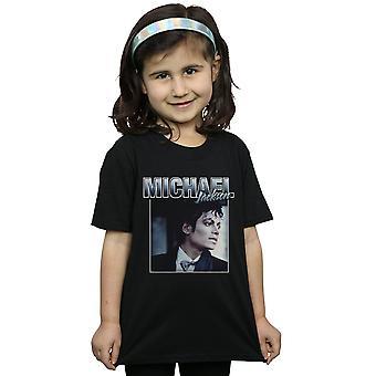 Michael Jackson Girls Homage Portrait T-Shirt
