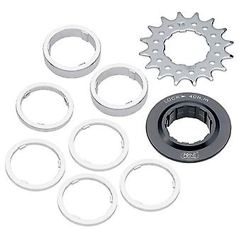 Point single speed set / / 12/13/14/15/16/17/18 tooth (incl. sprocket + spacer)