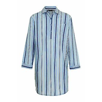 Campion Mens Westminster Stripe Nightshirt Lounge Wear