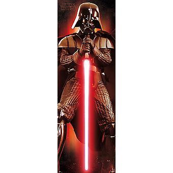 Star Wars Episode 8 Plakat Darth Vader Dør Plakat 158 x 53 cm