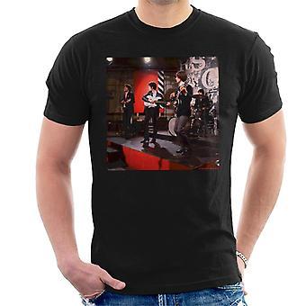 TV Times The Kinks Live redo Steady Go mäns T-Shirt