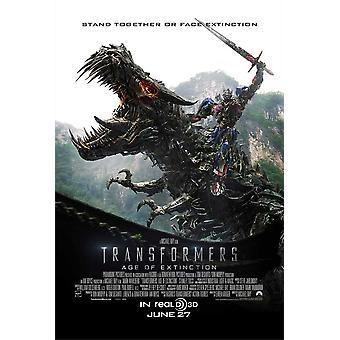Transformatoren-Alter von Extinction Movie Poster (11 x 17)