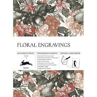 Floral Engravings - Gift & Creative Paper Book - Vol. 79 by Pepin Van R