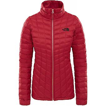 North Face Women's Thermoball Full Zip Jacket - Rumba Red