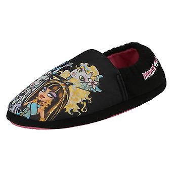 Mädchen lässig Slip On Slipper Monster High
