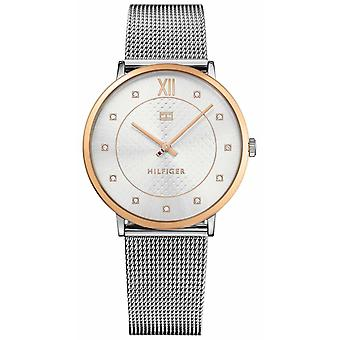 Tommy Hilfiger Sloane Lads Rose Gld With Mesh Stp 1781811 Watch