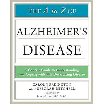 Le A à Z de la maladie d'Alzheimer