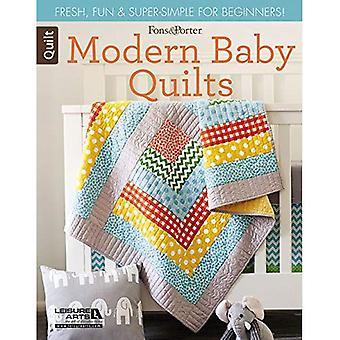 Fons & Porter schuldig tijdschrift moderne Baby dekbedden: Vers, leuk & super-eenvoudig voor Beginners!
