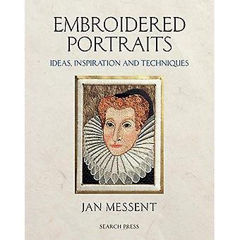 Bestickte Portraits: Ideen, Inspiration und Techniken