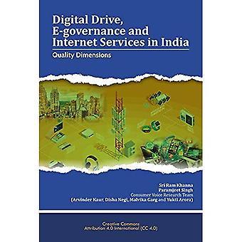 Digital enhet, E-förvaltning och Internettjänster i Indien: kvalitet dimensioner