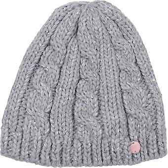 Roxy Womens Glacialis Beanie - Warm Heather Gray