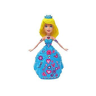 Katie magische tanzende Prinzessin Puppe - Blonde Haare und blaue Kleid