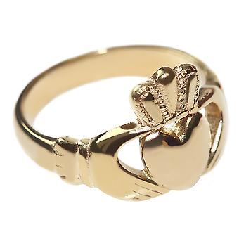 Women's Celtic Claddagh Ring with A Beautifully Traditional Design