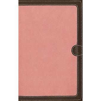 NIV - Thinline Bible - Compact - Imitation Leather - Pink/Brown - Red