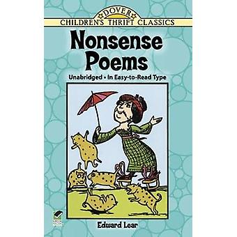 Nonsense Poems by Edward Lear - 9780486280318 Book