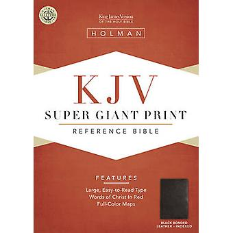 Bible Kjv Super Giant Print Reference Black T/I (large type edition)