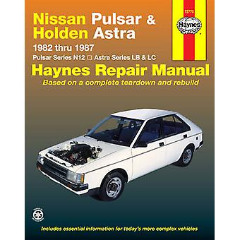 Nissan Pulsar and Holden Astra Australian Automotive Repair Manual - 1