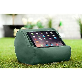 Green Water Resistant Round Tablet Cushion