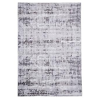 Modern carpet weaving carpet short flor indoor abstract grey 160 x 230 cm stain protection cotton mixture