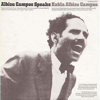 Don Albizu Campos - Habla Albizu Campos (Albizu Campos Speaks) [CD] USA import