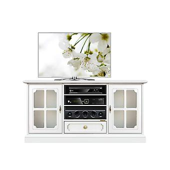 2 Doors Lacquered Classic Tv cabinet
