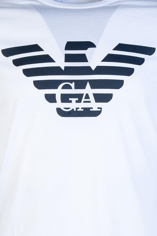 Emporio Armani Round Neck Long Sleeve T Shirt 8N1T64 1JNQZ