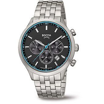 Boccia Titanium 3750-04 Miesten Watch