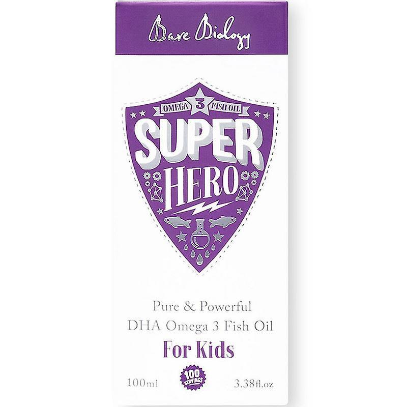 Bare Biology Super Hero Pure Omega-3 for Kids 100ml