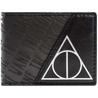 Warner Bros Harry Potter Deathly Hallows ID & kaart Bi-Fold portemonnee
