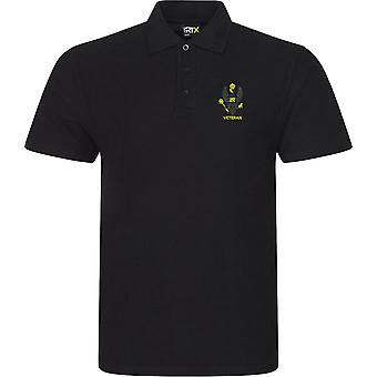 Kings Royal Hussars Veteran - Licensed British Army Embroidered RTX Polo