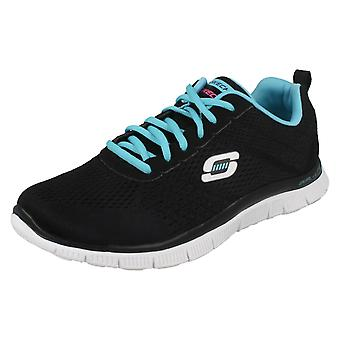 Ladies Skechers Flex Appeal Trainers Obvious Choice