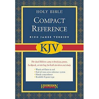 KJV Compact Reference Bible by Hendrickson Publishers - 9781598561104
