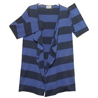 Soft B Cardigan 383 644 Blue With Navy