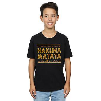 Disney Boys The Lion King Hakuna Matata T-Shirt