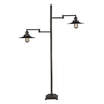 Restoration 2-light floor lamp
