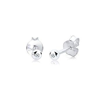 Diamore Silver Pearl Earrings 925 0309662413