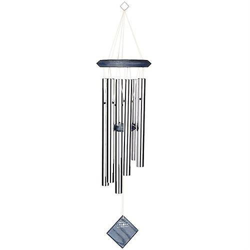 Pluto Chime Silver with Blue Wash Finish