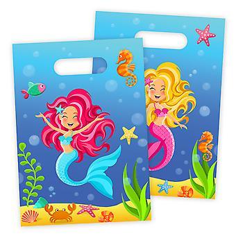 Part tasker poser taske havfrue havfrue part fødselsdag 8 stykker