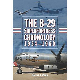 A cronologia Superfortress B-29, 1934-1960