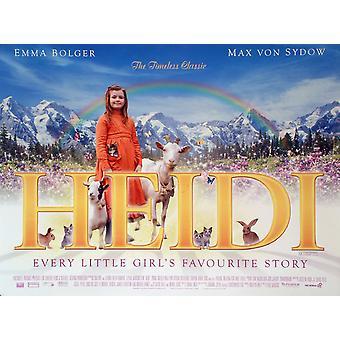 Heidi alkuperäinen elokuva juliste