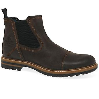 Bugatti Weston Mens Leather Chelsea Boots
