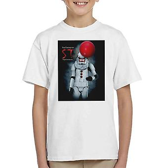 Original Stormtrooper St klovn parodi for lys kid ' s T-shirt