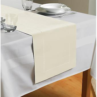 Country Club Table Runner, Krem