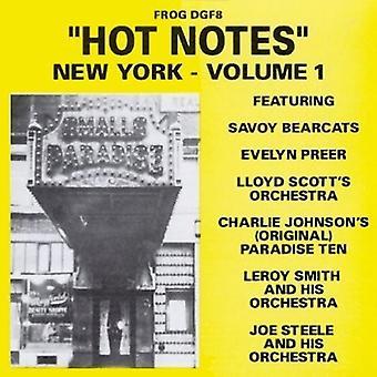 Hot Notes New York - Vol. 1-Hot Notes New York [CD] USA import