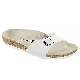 Birkenstock Madrid White 040731, Popular Single Strap Sandal