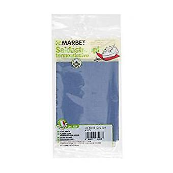 Marbet MB120.028 | Travaux de réparation tissu de coton | Fer-sur | 40 x 15cm | Armée de l'air bleu