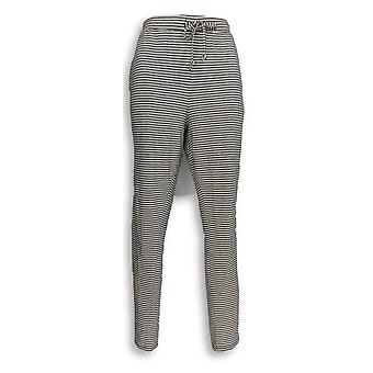 Anybody Women's Pants Cozy Knit Striped Lounge Pink A302405
