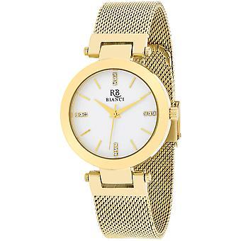 Roberto Bianci Femmes apos;s Cristallo Silver Dial Watch - RB0407