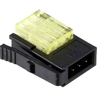 3 M 37103-2124-000 FL lage voedingsconnector flexibele: 0,3-0,56 mm² rigide: 0,3-0,56 mm² aantal pins: 3 1 PC('s) groen